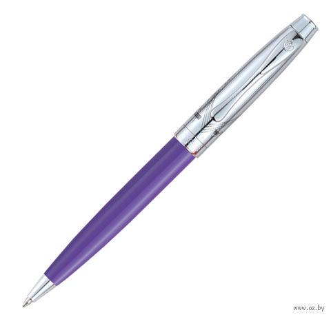 """Ручка шариковая """"London Bridge 313"""" в футляре (цвет корпуса: фиолетовый)"""