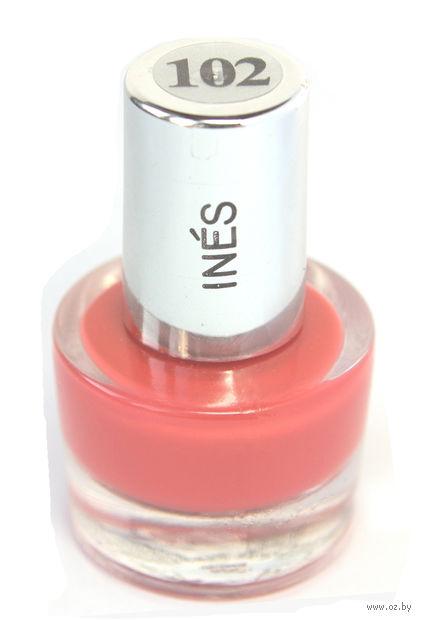"""Лак для ногтей """"Ines"""" (тон: 102)"""