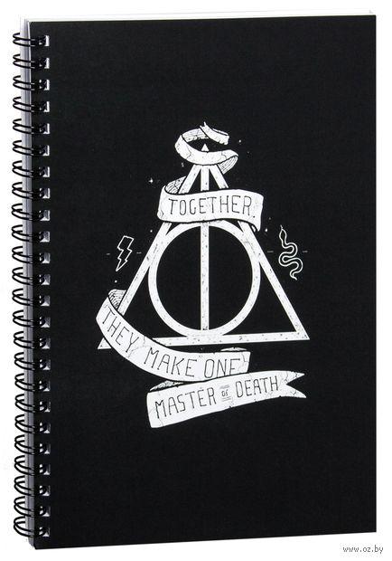 """Блокнот в клетку """"Гарри Поттер. Дары смерти"""" A5 (740)"""