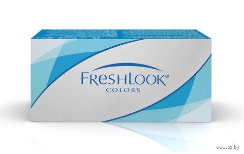 """Контактные линзы """"FreshLook Colors"""" (1 линза; -2,5 дптр; голубой) — фото, картинка"""