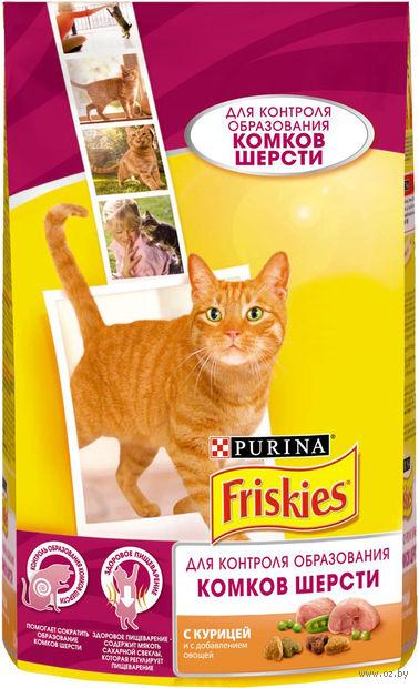 Корм сухой для кошек (1,5 кг; курица и овощи) — фото, картинка
