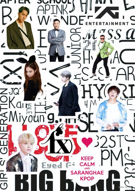 "Набор наклеек ""K-pop"" (арт. 11) — фото, картинка"