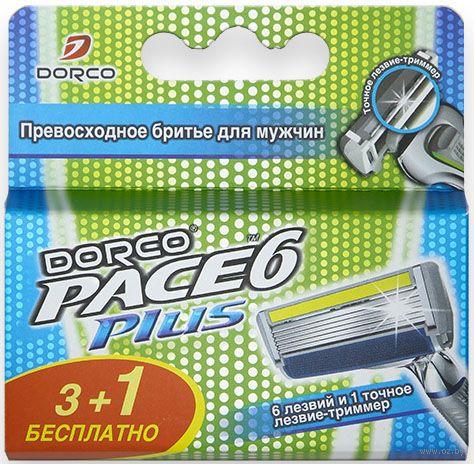 """Кассета для станка """"Pace 6 Plus"""" (4 шт.) — фото, картинка"""