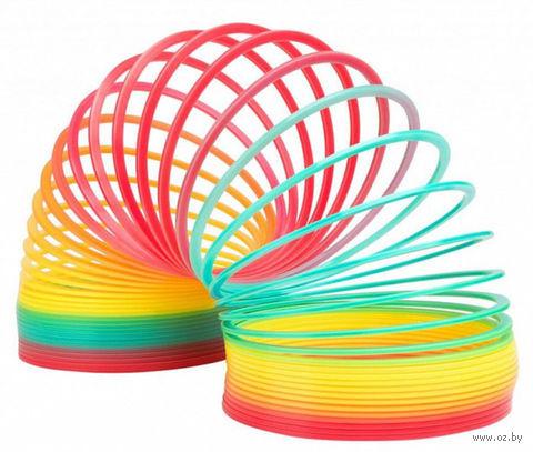 "Пружинка Slinky ""Радуга Гигант"" — фото, картинка"