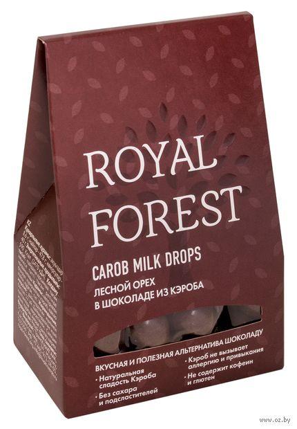 """Драже """"Royal Forest. Фундук в шоколаде из кэроба"""" (75 г) — фото, картинка"""