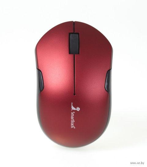 Беспроводная оптическая мышь SmartBuy 355AG (Red/Black)