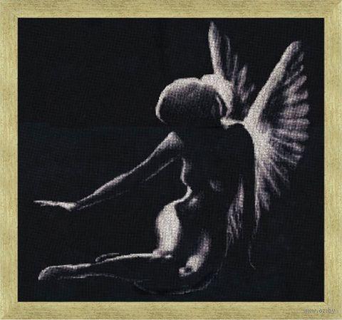 """Вышивка крестом """"Тень ангела"""""""