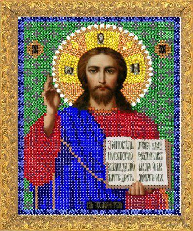 """Вышивка бисером """"Иисус"""" (арт. 7363)"""