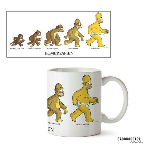 """Кружка """"Симпсоны. Homersapien"""" (арт. 409)"""
