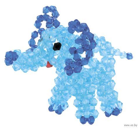 """Набор для бисероплетения """"Голубой слоненок"""" — фото, картинка"""