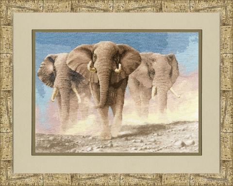 "Вышивка крестом ""Сердце Африки"" (410х285 мм) — фото, картинка"