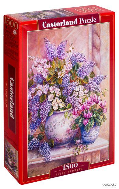 """Пазл """"Цветы сирени"""" (1500 элементов) — фото, картинка"""
