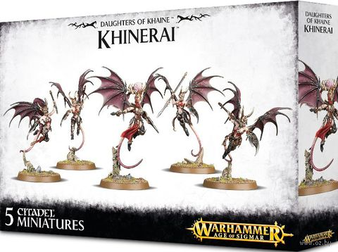 Warhammer Age of Sigmar. Daughters of Khaine. Khinerai (85-19) — фото, картинка