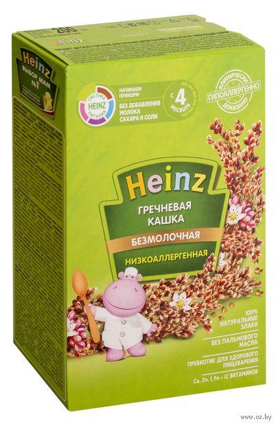 """Детская каша Heinz Baby """"Низкоаллергенная гречневая"""" (200 г) — фото, картинка"""