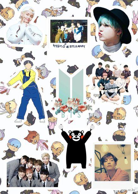 "Набор наклеек ""BTS"" (арт. 14) — фото, картинка"