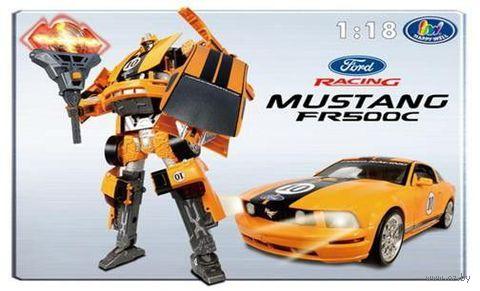 """Робот-трансформер """"Форд Мустанг FR 500C"""" (масштаб 1/18)"""