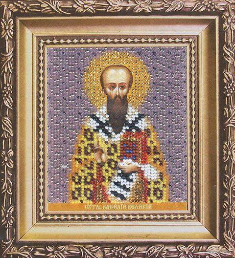 """Вышивка бисером """"Святитель Василий Великий"""""""