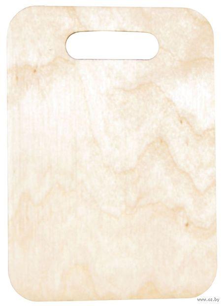 """Заготовка деревянная """"Доска"""" (240х160 мм; арт. L-46) — фото, картинка"""