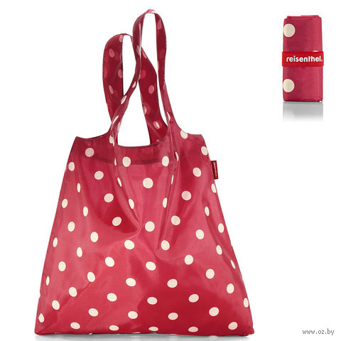 "Сумка складная ""Mini maxi shopper"" (ruby dots)"