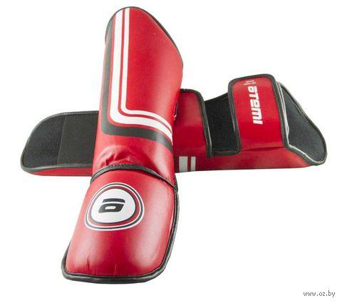 Защита голени и стопы LTB-16601 (M; красная) — фото, картинка