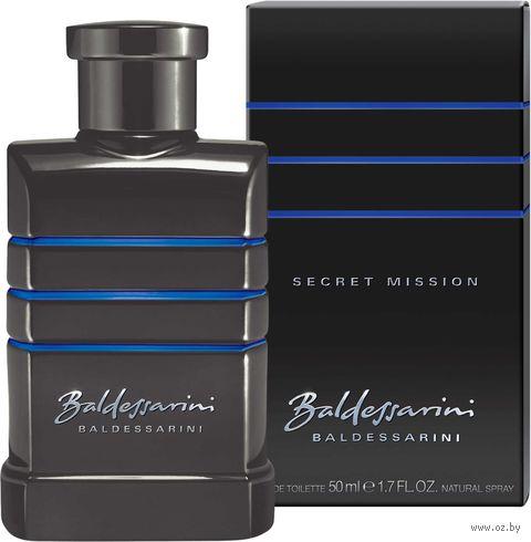 """Туалетная вода для мужчин Boss Baldessarini """"Secret Mission"""" (50 мл) — фото, картинка"""