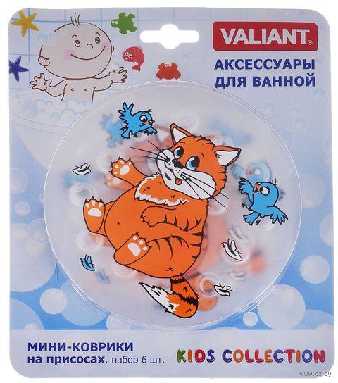 """Коврик для ванночки """"Котик"""" (6 шт.) — фото, картинка"""