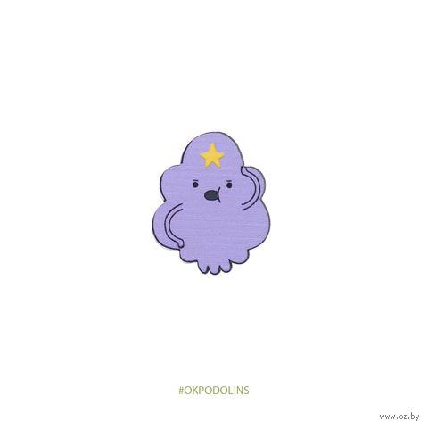"Значок ""Adventure Time. Принцесса Пупырка"" (арт. 394-2) — фото, картинка"