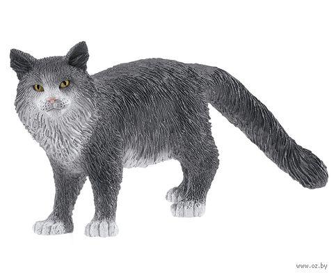 """Фигурка """"Кошка породы Мейн-кун"""" (4,1 см) — фото, картинка"""