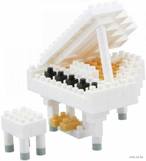 """Конструктор """"Белый Рояль"""" (130 деталей) — фото, картинка"""