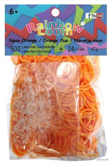 """Набор резиночек для плетения """"Rainbow Loom. Неоново-оранжевые"""""""