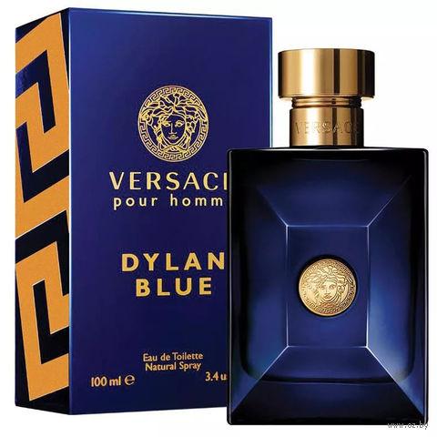 "Туалетная вода для мужчин Versace ""Dylan Blue"" (100 мл) — фото, картинка"