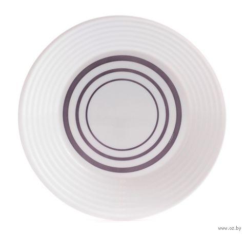 "Тарелка стеклокерамическая ""Harena Purple"" (230 мм) — фото, картинка"