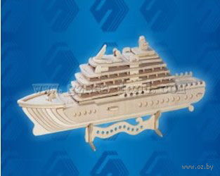 """Сборная деревянная модель """"Яхта-Люкс"""" — фото, картинка"""