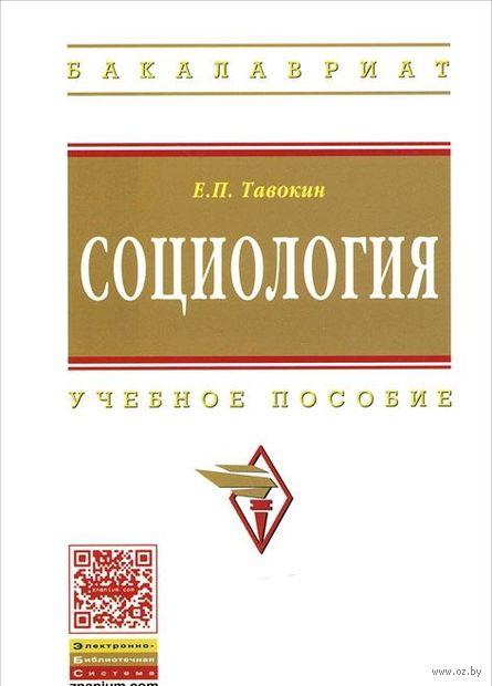 Социология. Евгений Тавокин
