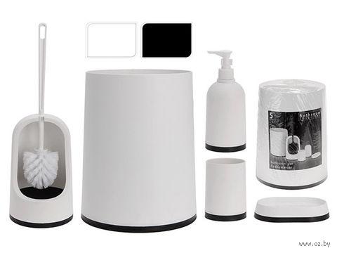 Набор для ванной пластмассовый (5 предметов; арт. 336220330)
