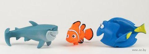 """Набор игрушек для купания """"Немо"""" (3 шт)"""