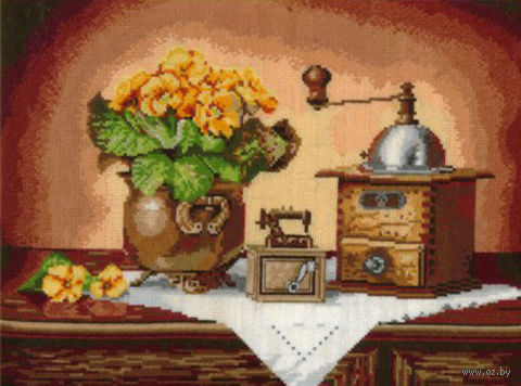 """Набор для вышивания """"Кофемолка"""""""