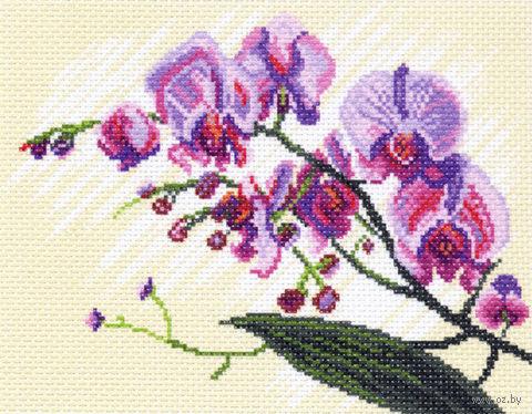 """Канва с нанесенным рисунком """"Орхидеи"""" (арт. 1316)"""