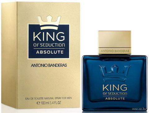 "Туалетная вода для мужчин Antonio Banderas ""King of Seduction Absolute"" (100 мл) — фото, картинка"