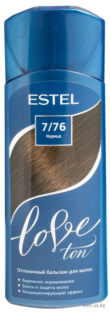 "Оттеночный бальзам для волос ""Love Ton"" тон: 7/76, корица (150 мл) — фото, картинка"
