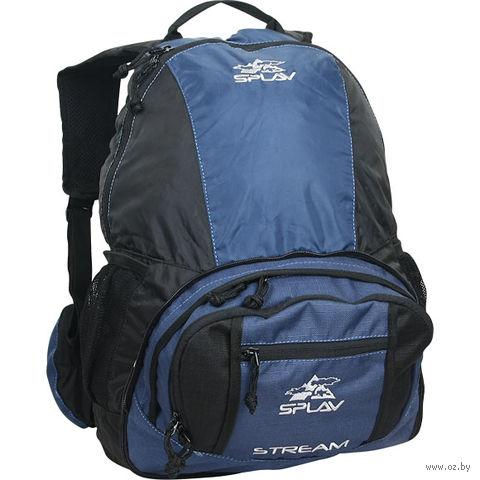 """Рюкзак трансформер """"Stream"""" (17 л; сине-чёрный) — фото, картинка"""