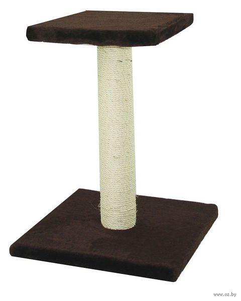 Когтеточка (40х41х54 см; темно-коричневая) — фото, картинка