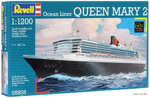 """Сборная модель """"Океанский лайнер Queen Mary 2"""" (масштаб: 1/1200) — фото, картинка"""