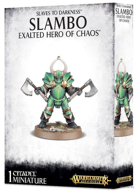 Warhammer Age of Sigmar. Slaves to Darkness. Slambo Exalted Hero of Chaos (71-81) — фото, картинка