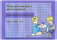 Результаты мониторинга детского развития. Первая младшая группа. Наталья Верещагина