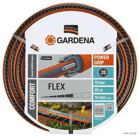 """Шланг поливочный """"Gardena Comfort Flex"""" 3/4"""" (19 мм х 25 м) — фото, картинка"""