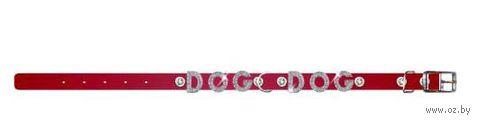 """Ошейник """"Collar brilliance"""" с украшением для щенков и собак мелких пород (22-30 см, красный, арт. 38533)"""