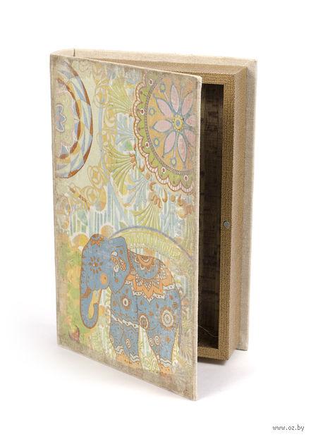 Шкатулка деревянная (26х17х5 см; арт. 7790128)