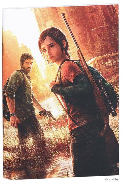 "Блокнот белый ""The Last of Us"" А5 (298)"