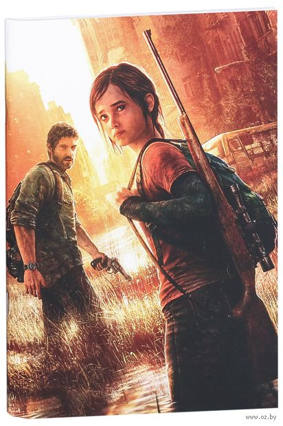 "Блокнот белый ""The Last of Us"" А5 (арт. 298)"